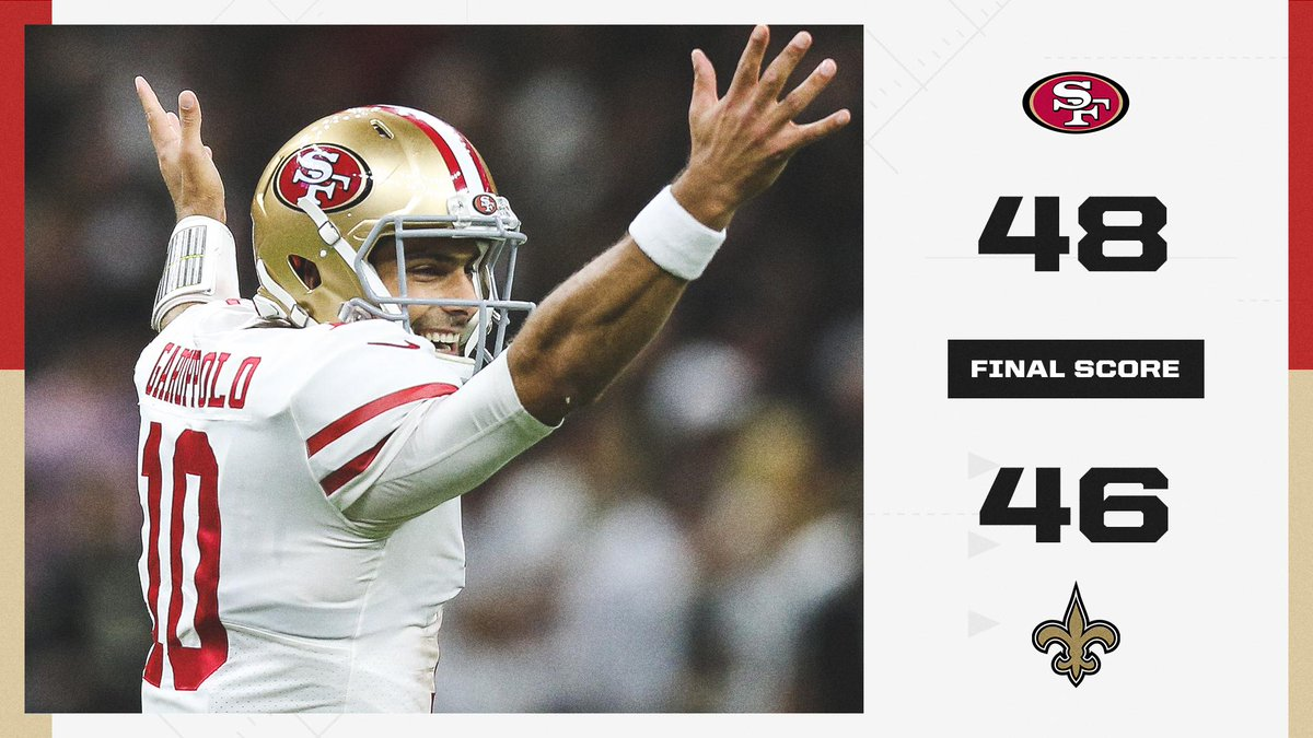 @espn's photo on Jimmy G