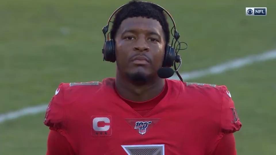 @NFLonCBS's photo on Jameis Winston