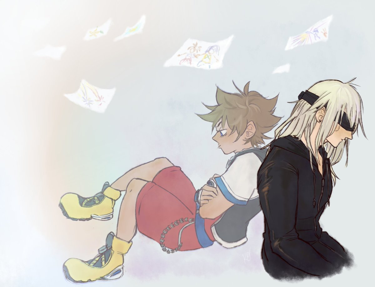Day 2| DistanceSora when-I-wake-up-I'm-guna-give-you-all-the-love-just-watch Kingdom Hearts#sorikuweek2019 #KH