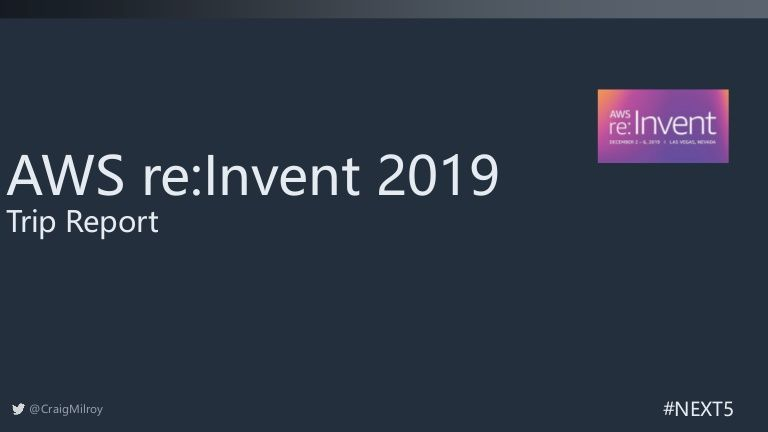 test Twitter Media - Updated!! Did you do too much #Vegas this week? Don't worry..... got you covered with #AWS #reInvent 2019 trip report!!  https://t.co/oEVTOh9vTq via @SlideShare   @awscloud @AWSreInvent  #awscloud  #AI #Cloud #MachineLearning #Deeplearning   #Azure #GCPCloud https://t.co/J9Qo3gOWO2