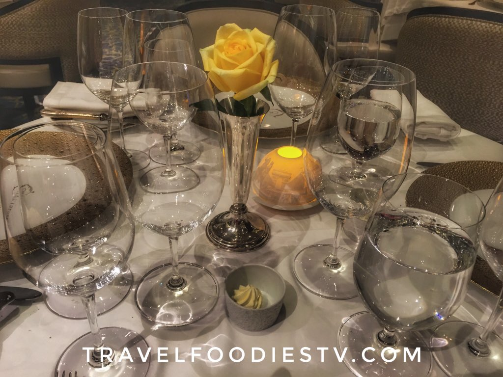 The intentional #beauty and #art of every detail on the #Voyager is impeccable. We #love #dining in the center of #gorgeous surroundings. The #gourmet #food is sublime. Heading to #Bangkok #Thailand #luxury #travel #cruise #cruises #luxurytravel #regentcruises #Sponsored