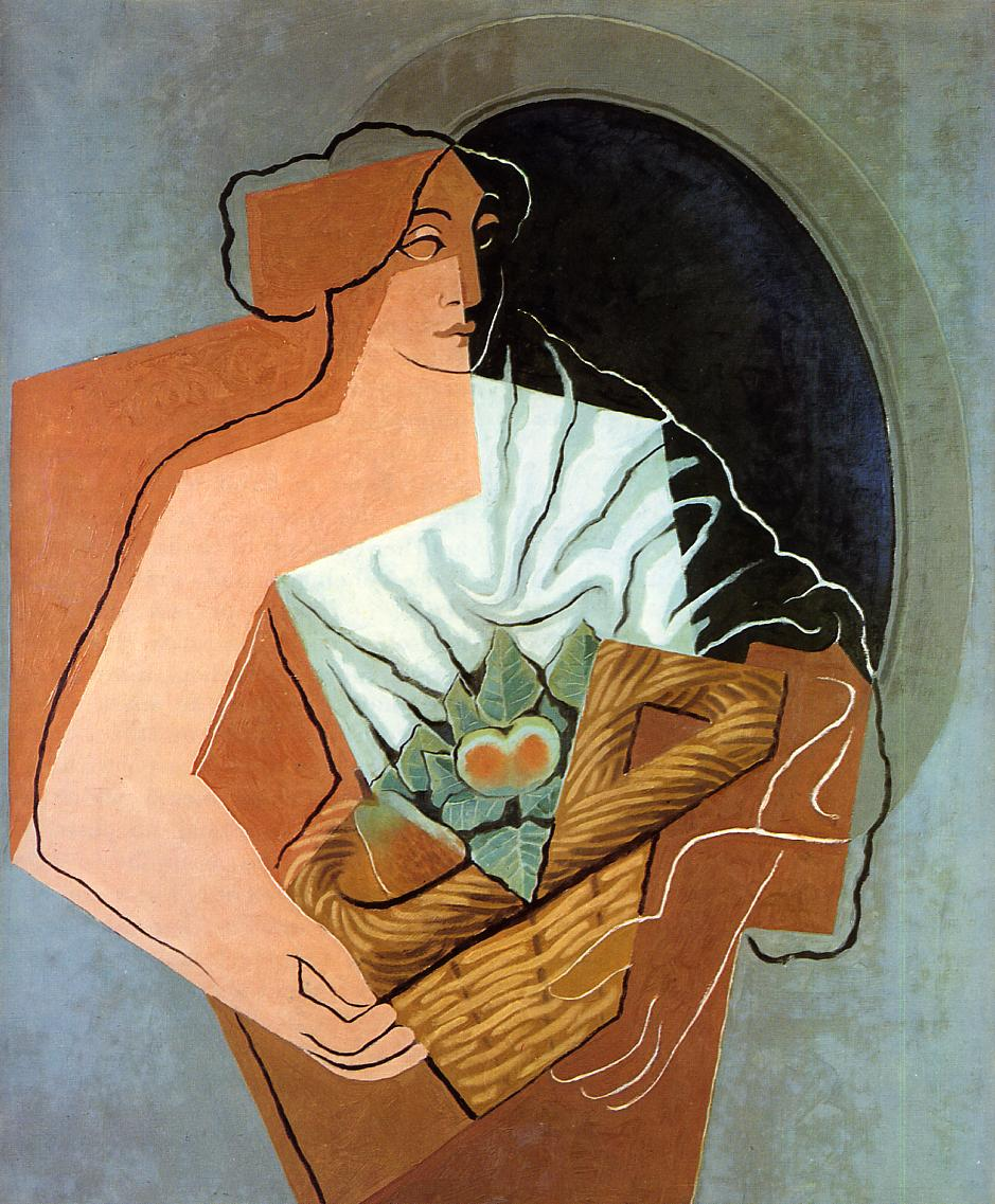 Woman With Basket, 1927 #spanishart #juangris <br>http://pic.twitter.com/BYzaKqWd78