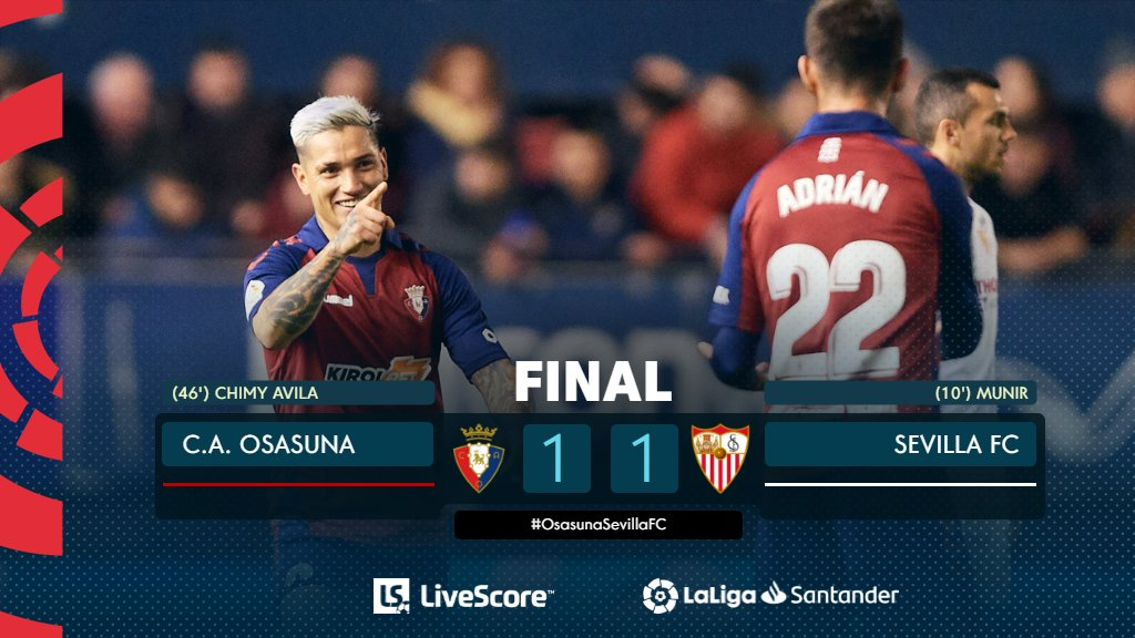 Osasuna-FC Séville
