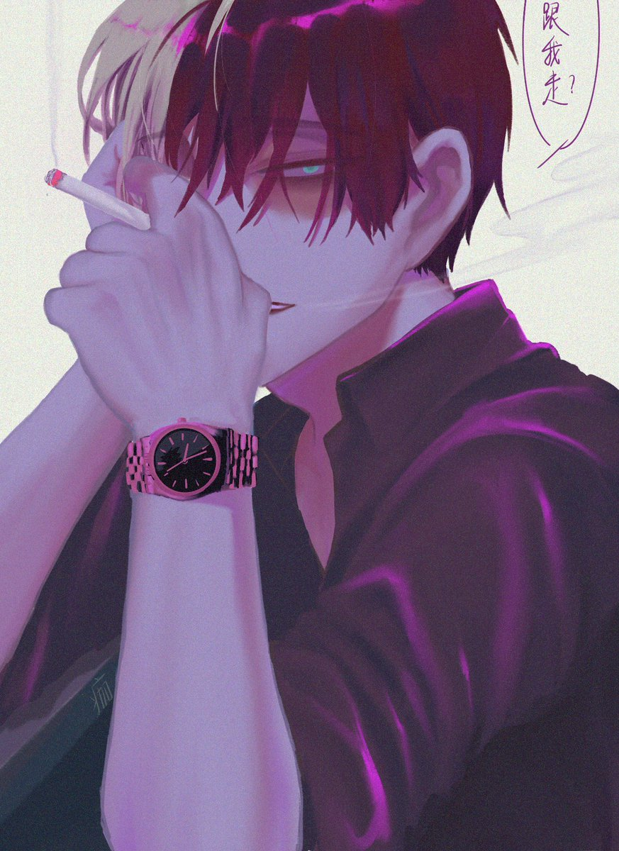 Invitation between adults. #Todoroki #todobaku #轟爆<br>http://pic.twitter.com/p2RR2lMeyz
