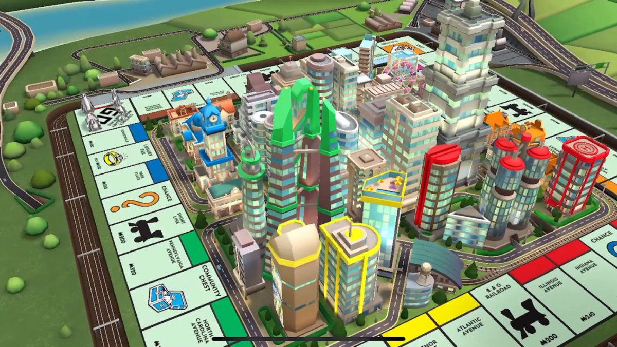 More boards 🏙 More pieces 🦖 More Monopoly 💰Pass GO to start playing this board game classic, out now on the App Store: https://t.co/dA6lgqqXvg
