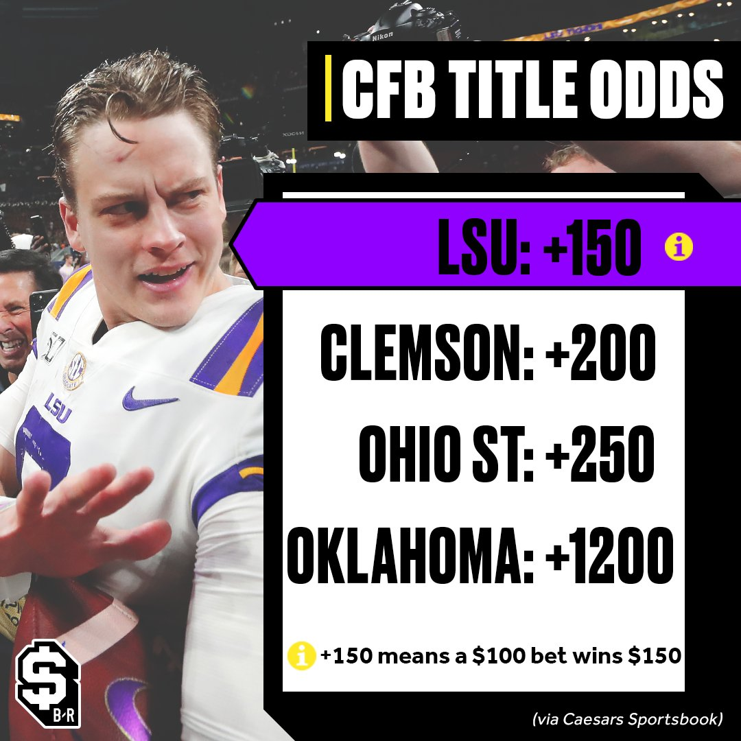 Who ya got? 🤔 (Odds via Caesars Sportsbook)
