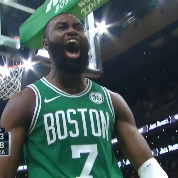 Gonna start an all-star campaign for Jaylen Brown early this year 😤  @FCHWPO x @NBAAllStar
