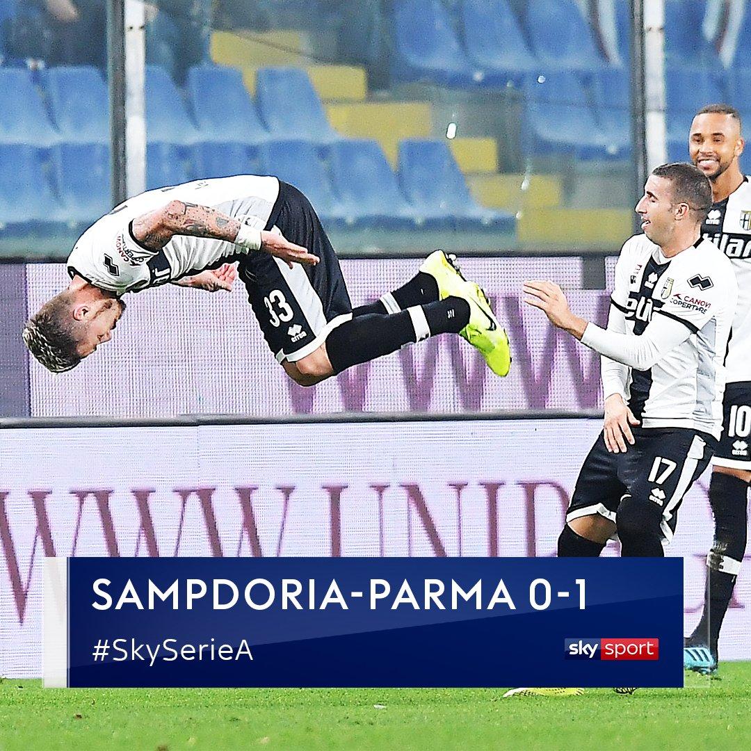 #SampdoriaParma