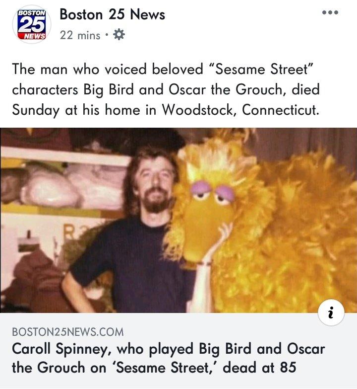 Big Bird On Twitter Today My Street Is Turning 50 I Heard