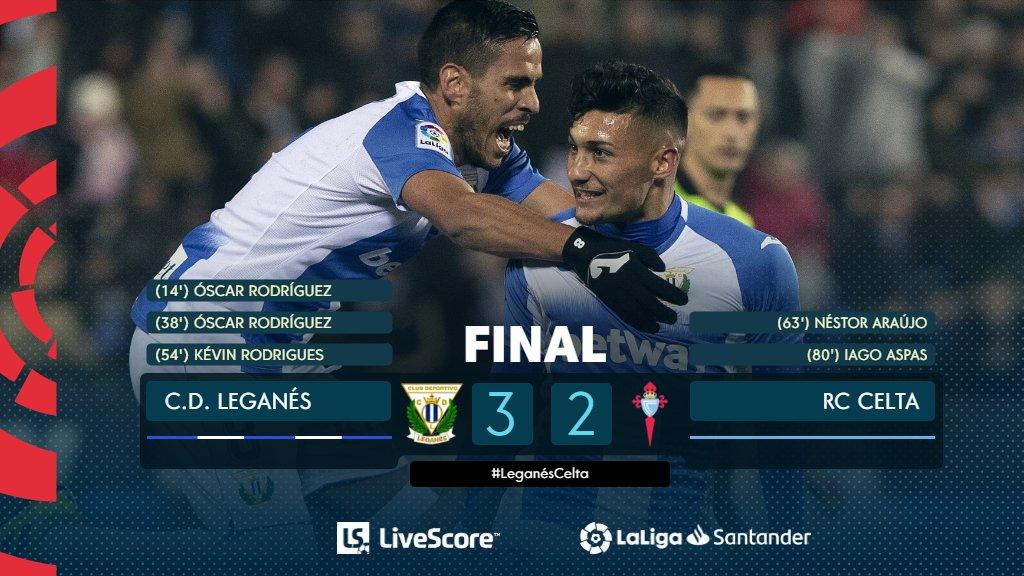 Leganés-Celta Vigo