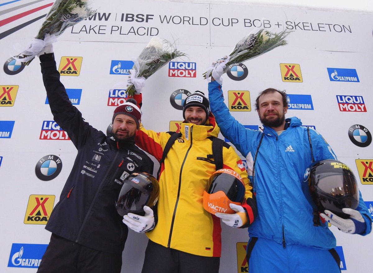 BMW IBSF Lake Placid WC I Jungk Axel (GER)  Martins DUKURS (LAT) Tretiakov Alexander (RUS)  Photo - Viesturs Lācis | IBSF  #skeletonLV #IBSF #LakePlacid #slideintothefuture #LP19_1 #BMWIBSF #worldcup #skeletonsport #roadtobeijingpic.twitter.com/FPrx30Zwas