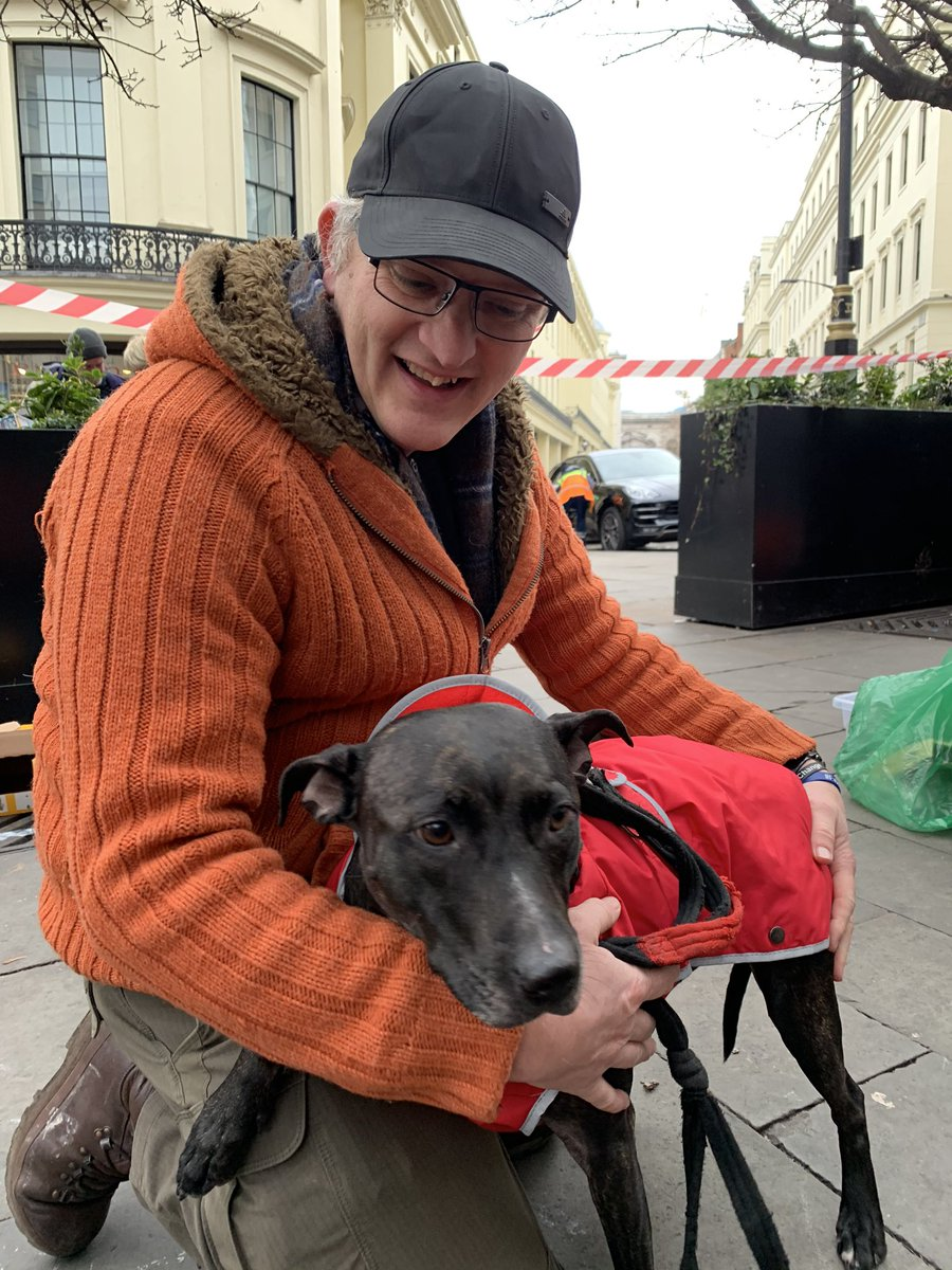 """This baby came to our station today for the 1st time.We scan all new dogs and do an instant microchip check. """"Missy"""" has been missing (lost) from her family for 8 weeks! We arranged for her mum to come & collect her instantly.Tears of joy & owner saying """"Best Xmas present ever  <br>http://pic.twitter.com/TIf06tsqXQ"""