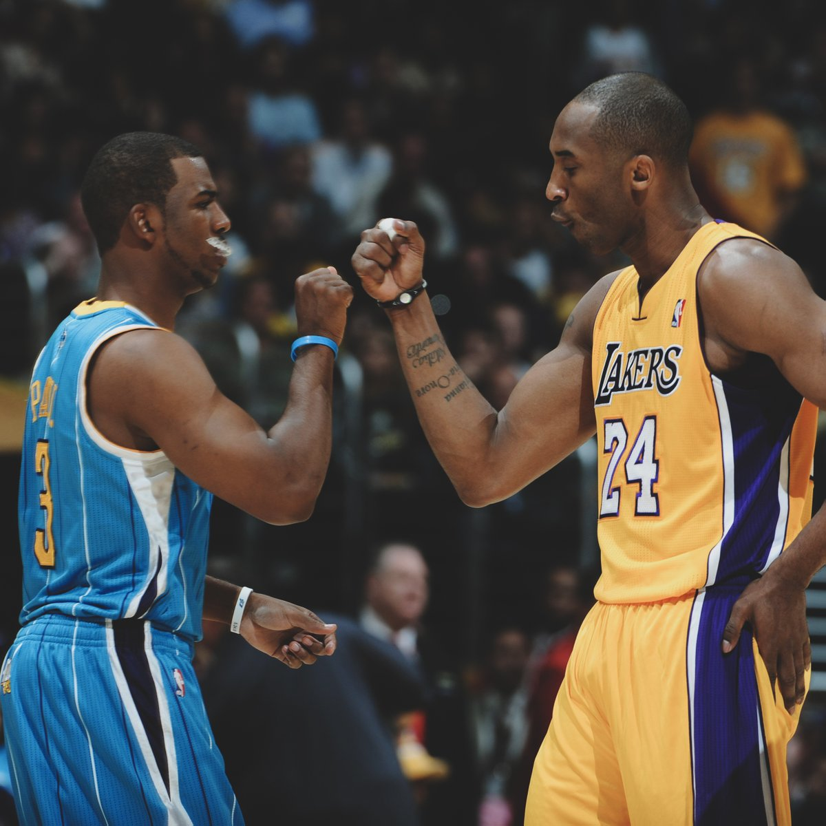 8 years ago today, the Lakers trade for CP3 was vetoed. One of the craziest things in sports to happen this decade.