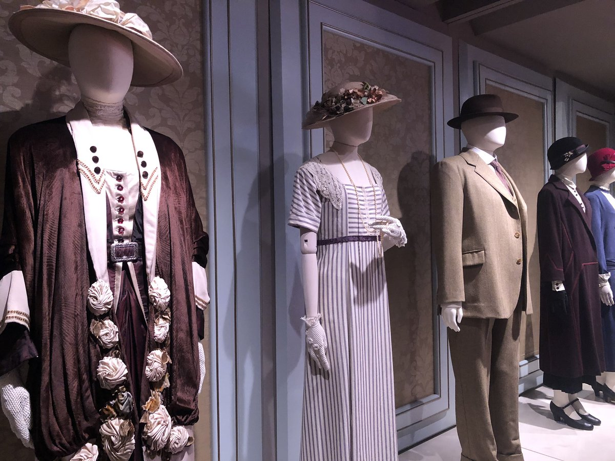 For my followers who are #DowntonAbbey fans, here are some pictures of the DA exhibit at The Biltmore in NC. <br>http://pic.twitter.com/jd6qNWaLgO
