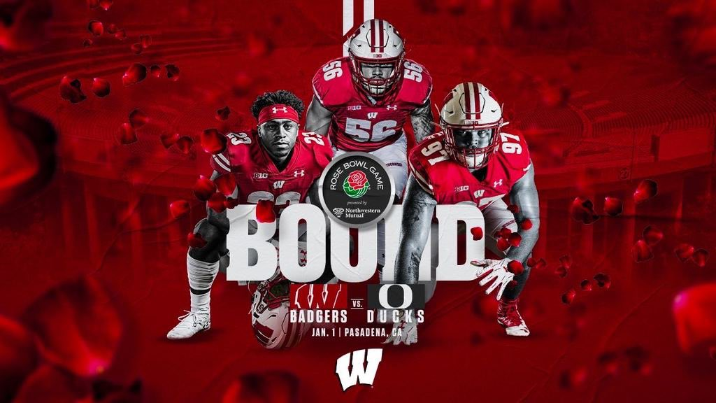 Replying to @BadgerFootball: Everything's coming up roses 🌹