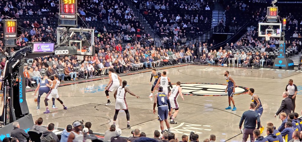Recalibrating with a little NBA action this afternoon. Denver Nuggets taking on the Brooklyn Nets.