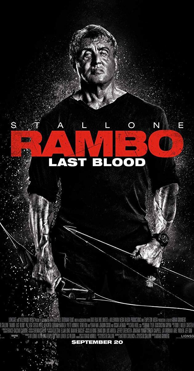 #RamboLastBlood: the traps, the arrows, the bennett (army knives for commandos), blowing up things...  It is indeed still the left-handed badass John Rambo from Arizona. And there is no more blood left to spill. <br>http://pic.twitter.com/IOB5qdWlXB