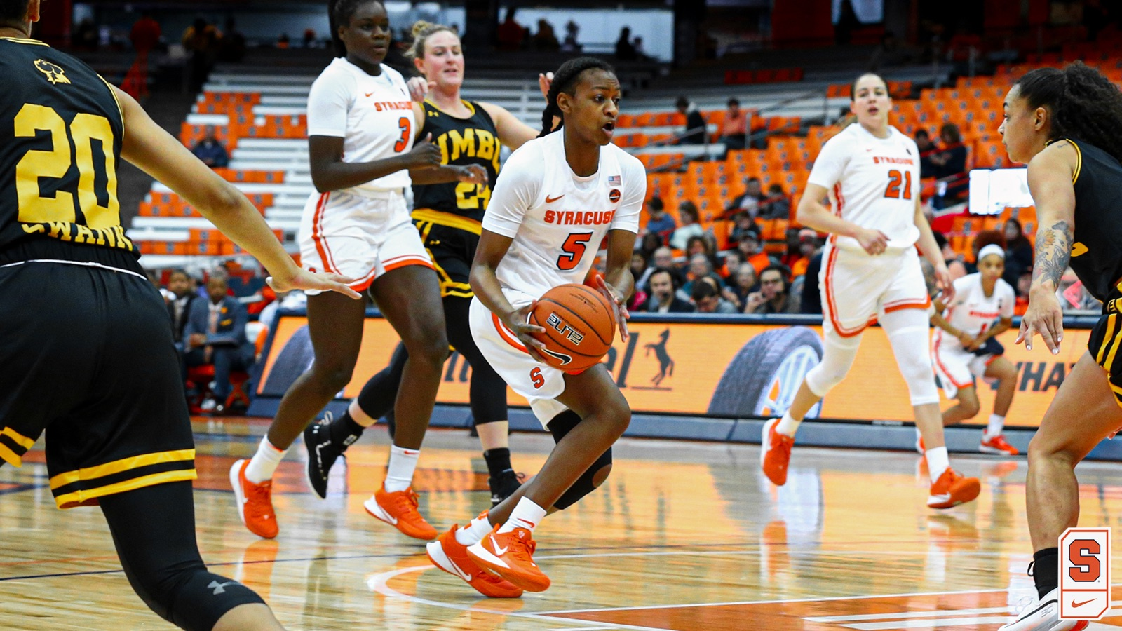 Syracuse bounces back with an 82-48 win over UMBC