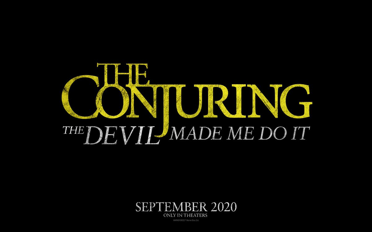 Check Out The Conjuring 3's Devilishly Good Title And Logo - GameSpot
