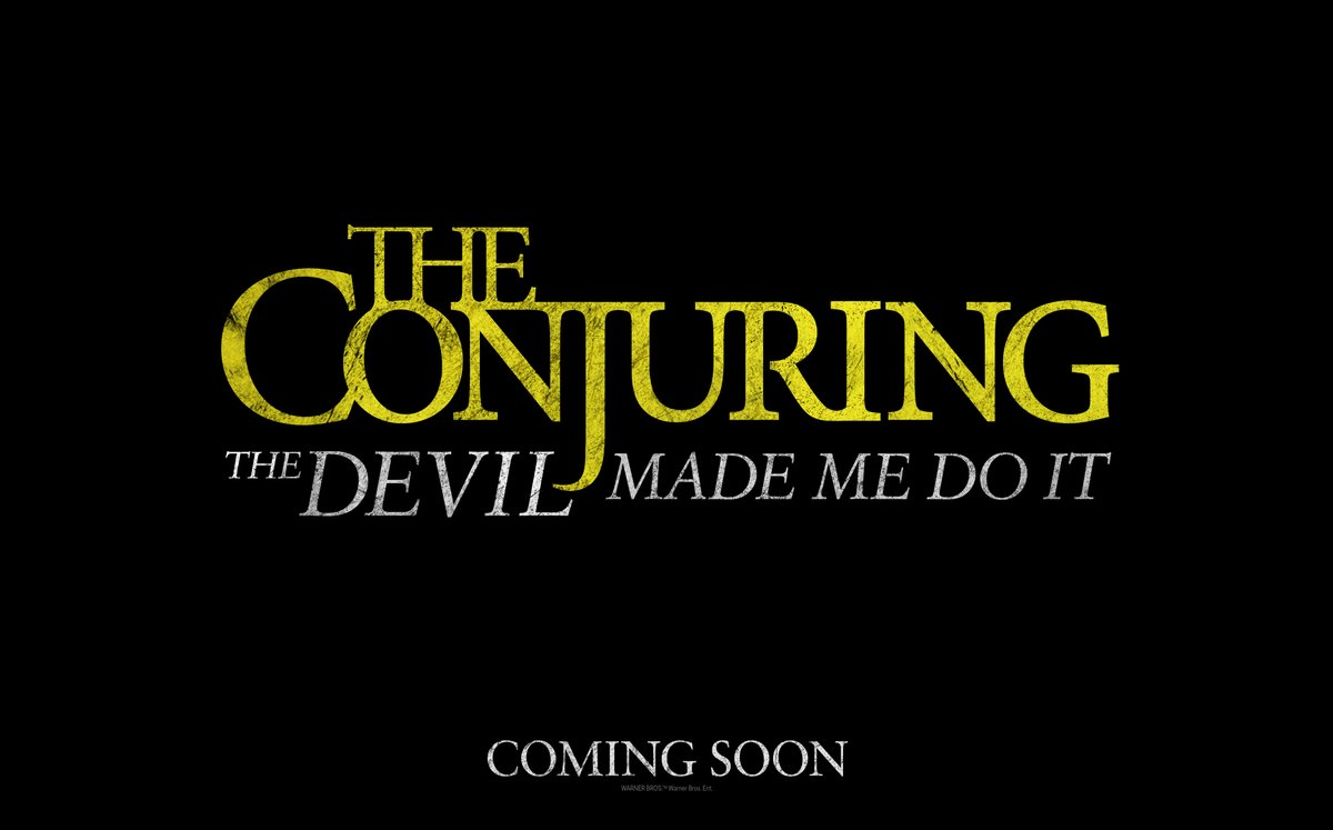 The Conjuring: The Devil Made Me Do It – only in cinemas September 2020. #TheConjuring<br>http://pic.twitter.com/IEUeCzxxx7