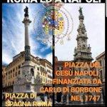 Image for the Tweet beginning: I Napoletani finanziarono la colonna