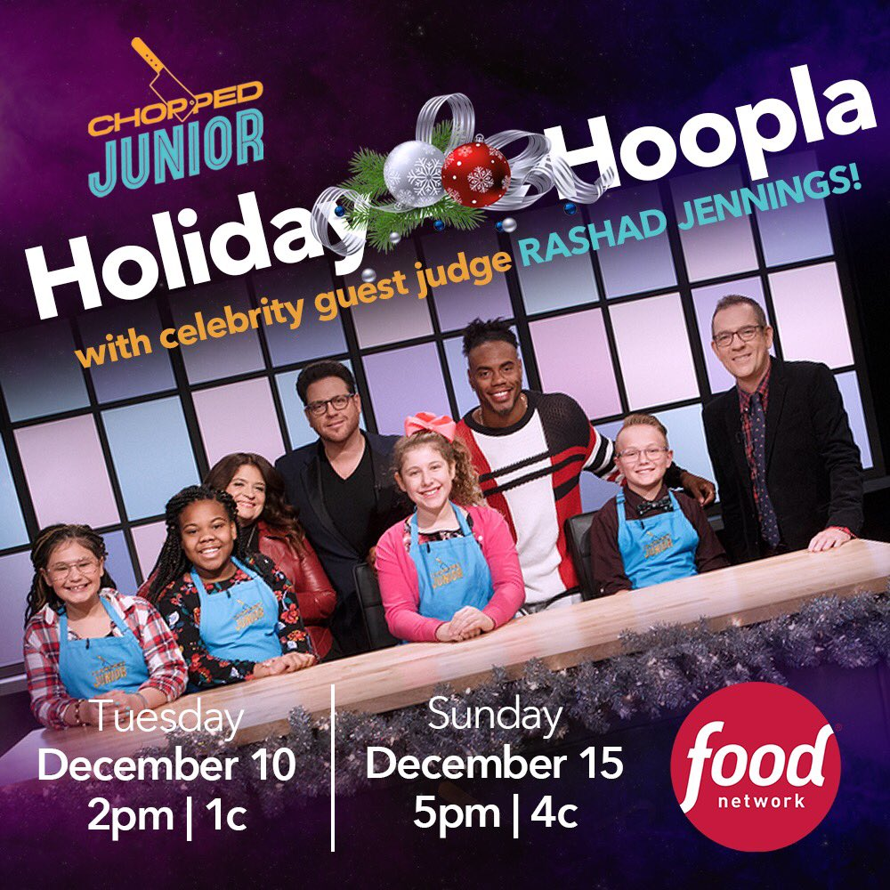 Y'all know I love the kids! And sometimes that calls for tough love... Yeah, I'm judging on @FoodNetwork show Chopped Junior this Tuesday, Dec 10th! They better bring it, because I don't play when it comes to my food!   #ShadLovesTheKids #ChoppedJunior <br>http://pic.twitter.com/m5OvBe6GLO