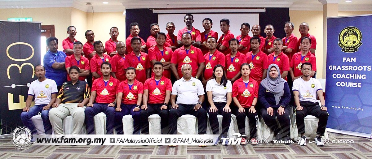 FAM Grassroots Coaching Course | 7th & 8th December 2019  Read more at   #FAM #HarimauMalaya