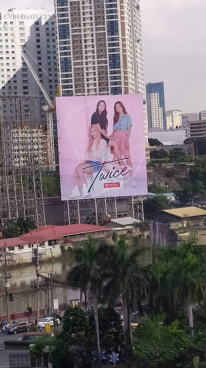 The 2nd billboard is up now ONCE!  Enjoy passing by EDSA Guadalupe  @JYPETWICE @benchtm #TWICE #트와이스 #TWICExBENCH #TwiceForBENCH  https:// twitter.com/fortwiceph/sta tus/1203660265163649024   … <br>http://pic.twitter.com/7BMdku7kra