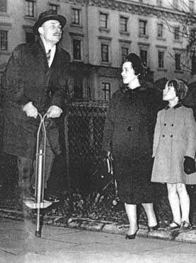 And, of course, Enoch Powell on a pogo stick.
