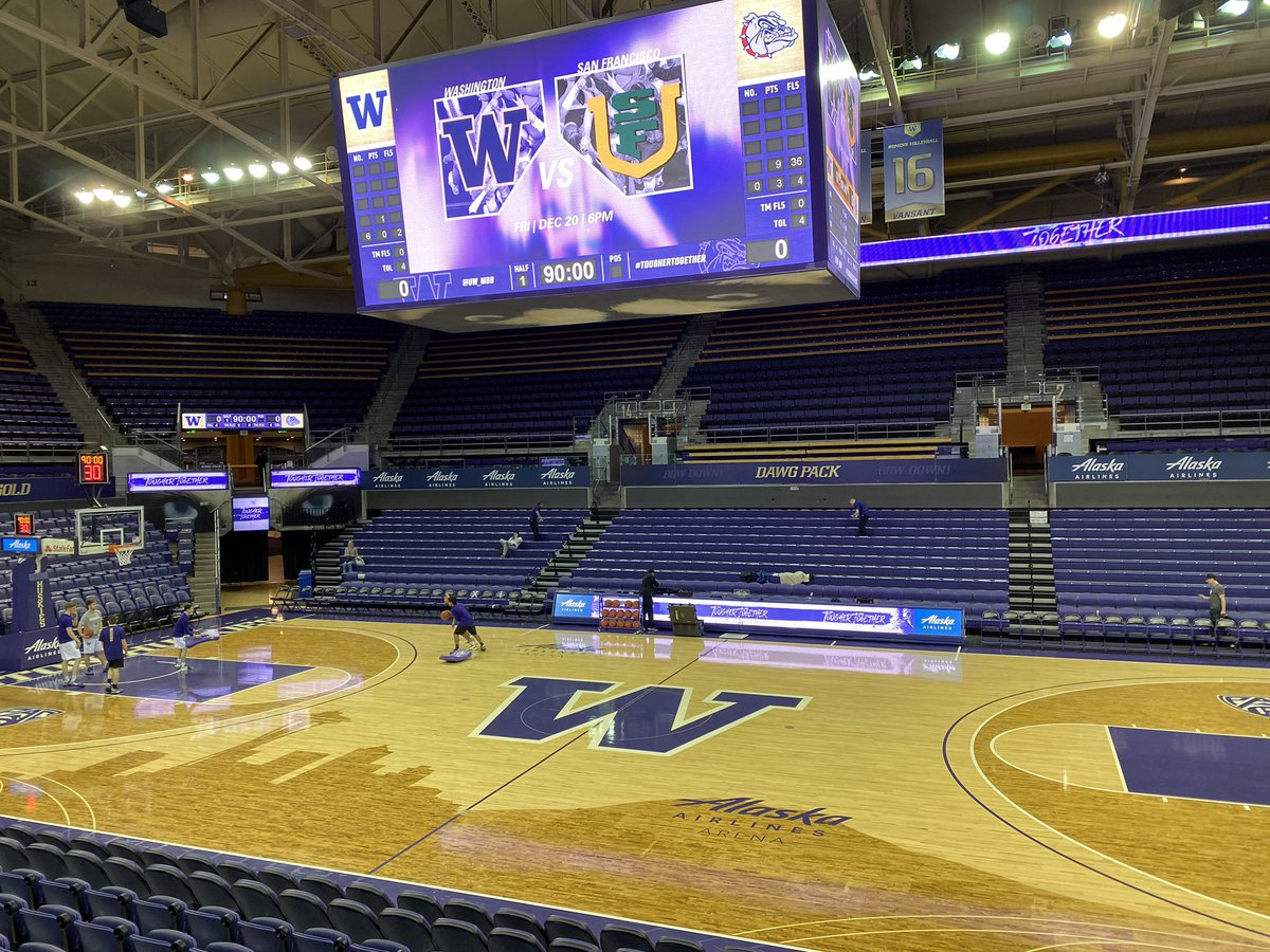 In Seattle for Gonzaga-Washington, which tips in just under two hours on ESPN2. Looking forward to seeing Jaden McDaniels, Isaiah Stewart, Naz Carter, Filip Petrusev, and Killian Tillie.
