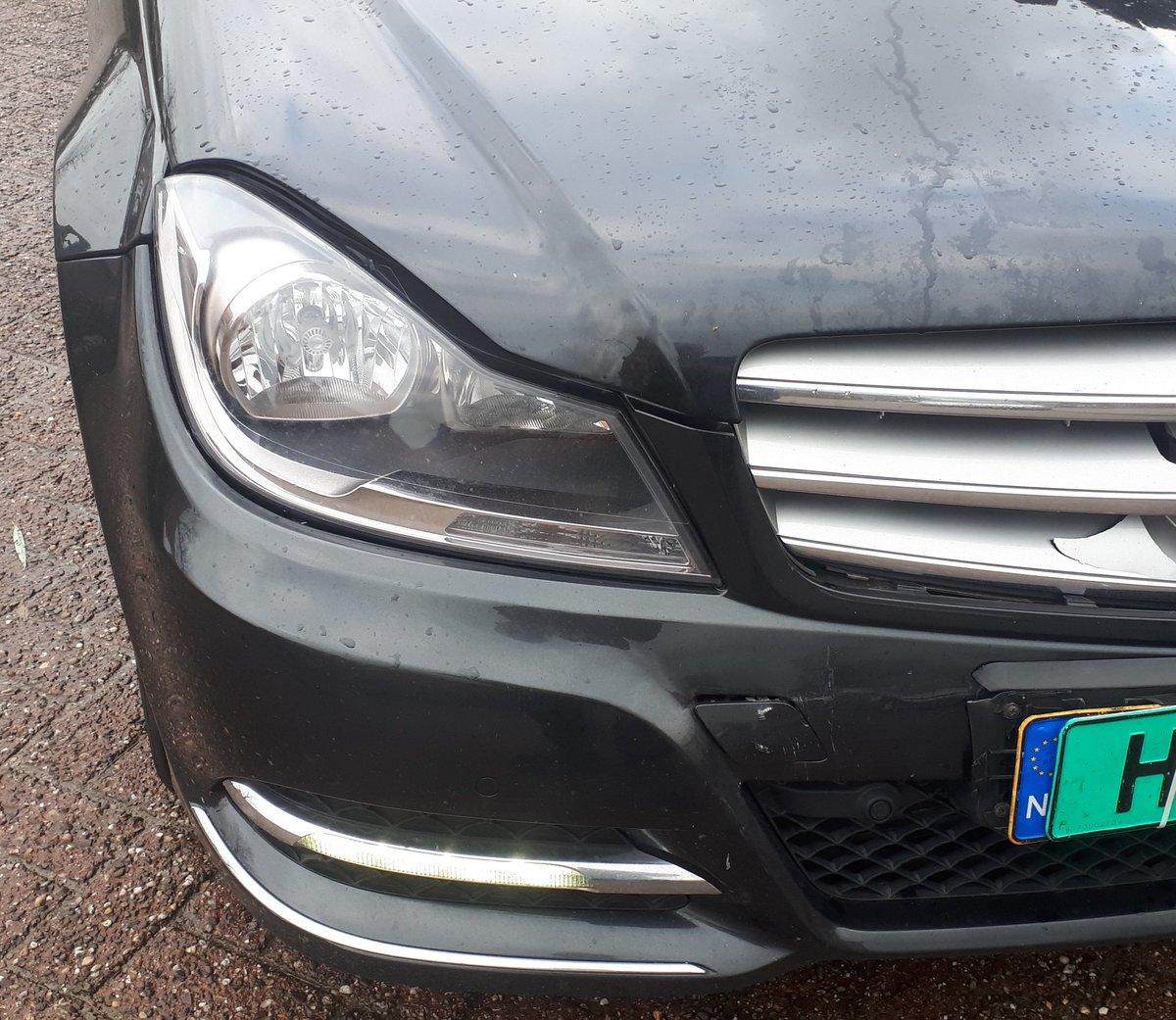 lichte schade auto
