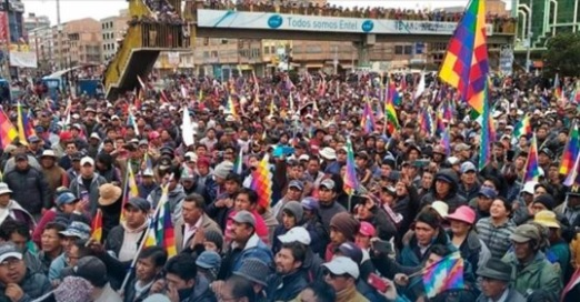 EVO MORALES VOWS TO RETURN TO BOLIVIA AFTER THE RIGHT-WING COUP   https://www. telesurenglish.net/news/Evo-Moral es-Vows-to-Return-to-Bolivia-After-Right-Wing-Coup--20191208-0003.html?utm_source=planisys&utm_medium=NewsletterIngles&utm_campaign=NewsletterIngles&utm_content=8  … <br>http://pic.twitter.com/69HVOUmEL4