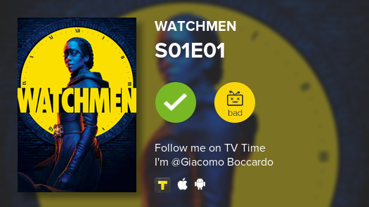 test Twitter Media - I've just watched episode S01E01 of Watchmen! #watchmen  #tvtime https://t.co/9StnzPXiA4 https://t.co/0jv87p0LIo