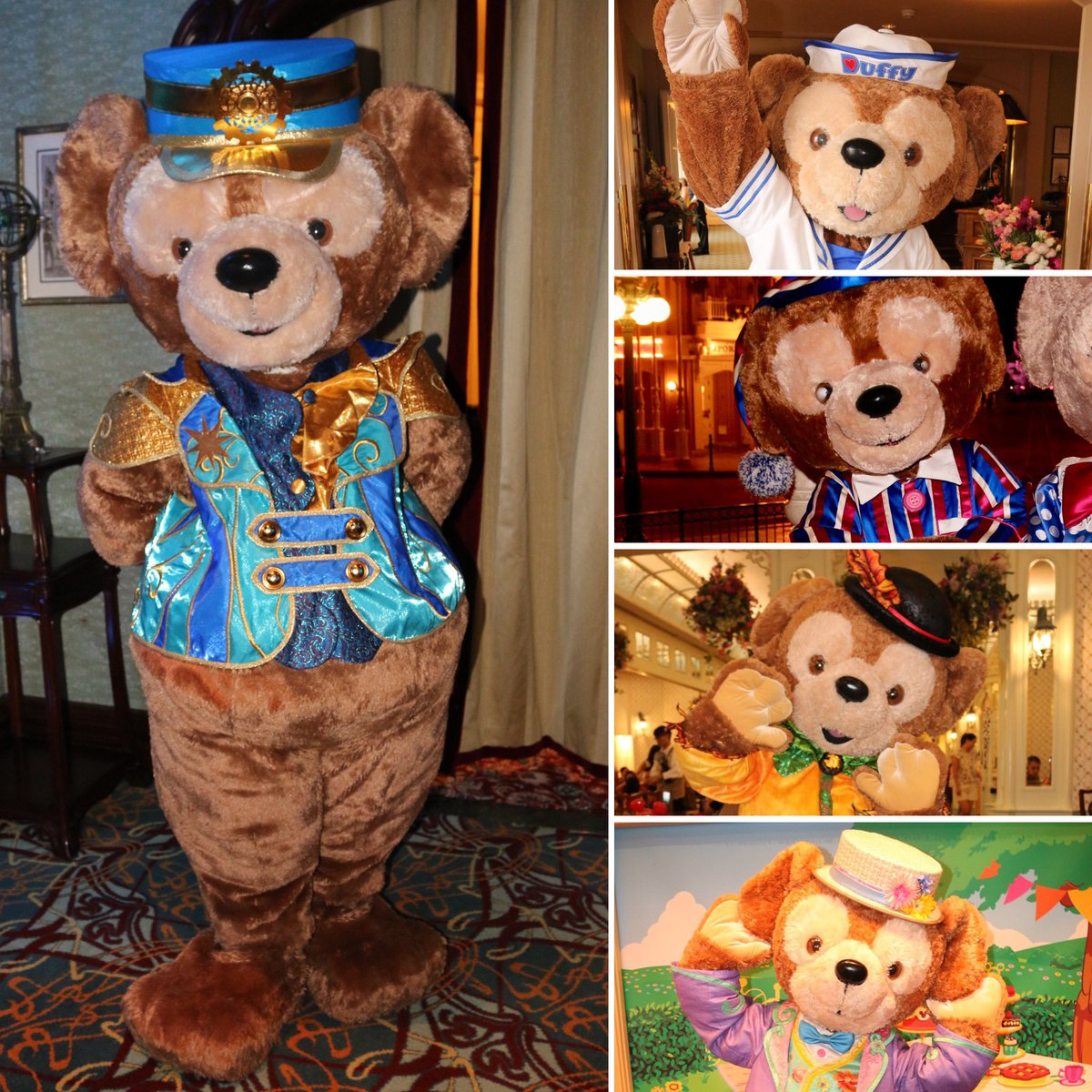 🧡💙THANK YOU 2019🧡💙I've been lucky to meet a favourite character of many fans many times this year! Take a look at the different outfits I've met him in during 2019!   #disneylandparis #disneyparks   #hongkongdisneyland #ダッフィー #duffythedisneybear #duffy   💙🐻2️⃣0️⃣1️⃣9️⃣🐻💙