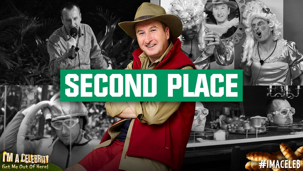 He might not have won the crown, but he's definitely won the hearts of the nation! The fantastic @andywhyment81 has finished in 2nd place  #ImACeleb  <br>http://pic.twitter.com/e6XwDgUFpP
