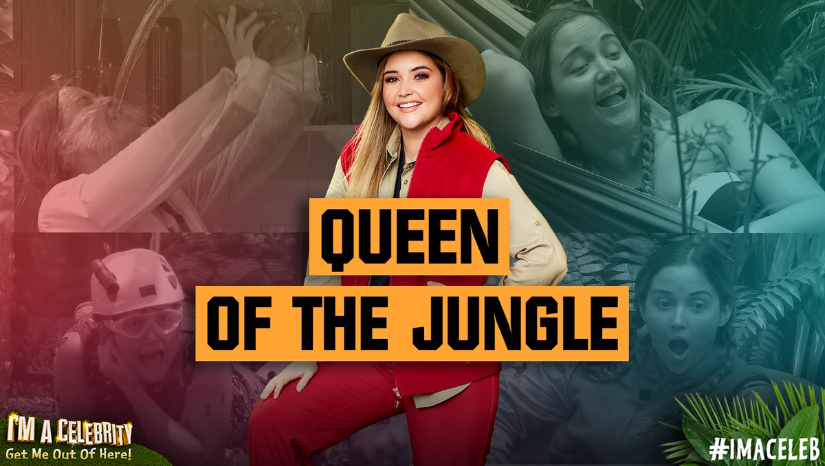 The winner of #ImACeleb  2019, and the brand new Queen of the Jungle is @jacquelineMjos! <br>http://pic.twitter.com/jLwNogee46