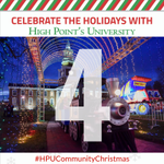 All aboard! All aboard! This is the Polar Express! 🚂💨 Join us for a Christmas classic - an enchanting ride on the Polar Express! Only 4 DAYS to go until #HPUCommunityChristmas! 🎄🎅 #HPUTraditions