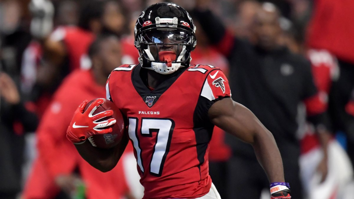 Undersized and undrafted, Olamide Zaccheaus proves doubters wrong on Sunday when he set an NFL record on his 93-yard touchdown. atlfal.co.nz/36gTvPM