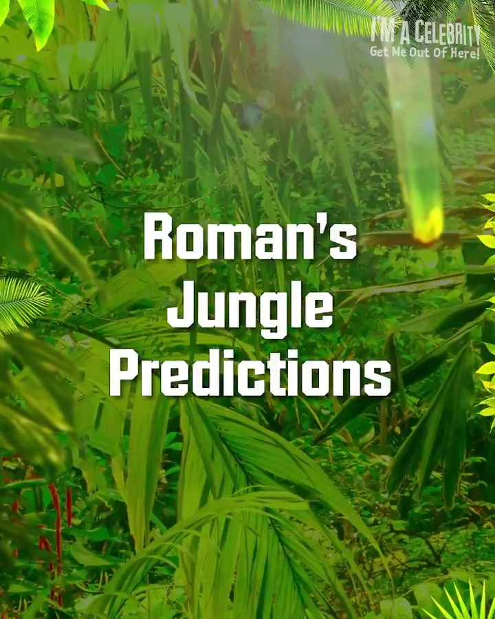 Laughing? During Trials? Take a look at some of @romankemp's Jungle Predictions 🤣😢🤢 #ImACeleb
