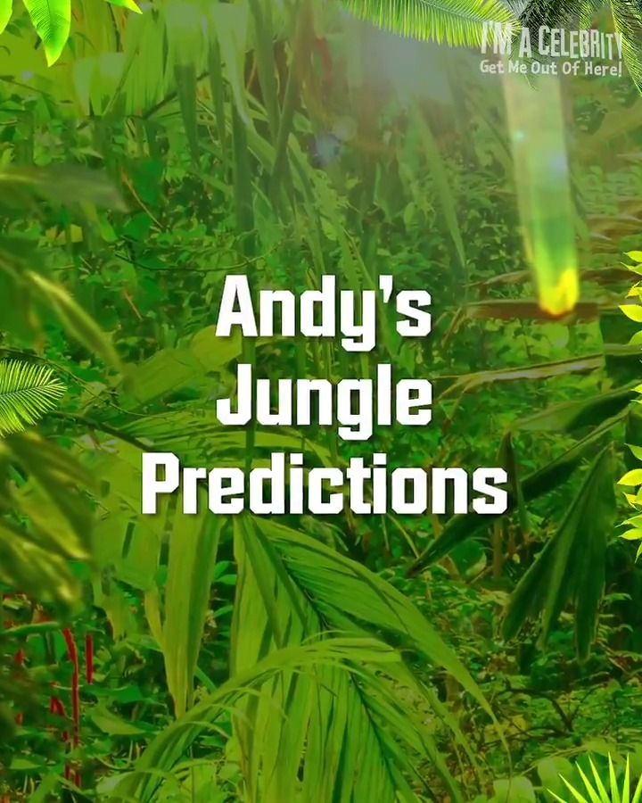 Andy was one of the biggest #ImACeleb fans to ever enter the Jungle! Take a look at his Jungle predictions. 😍