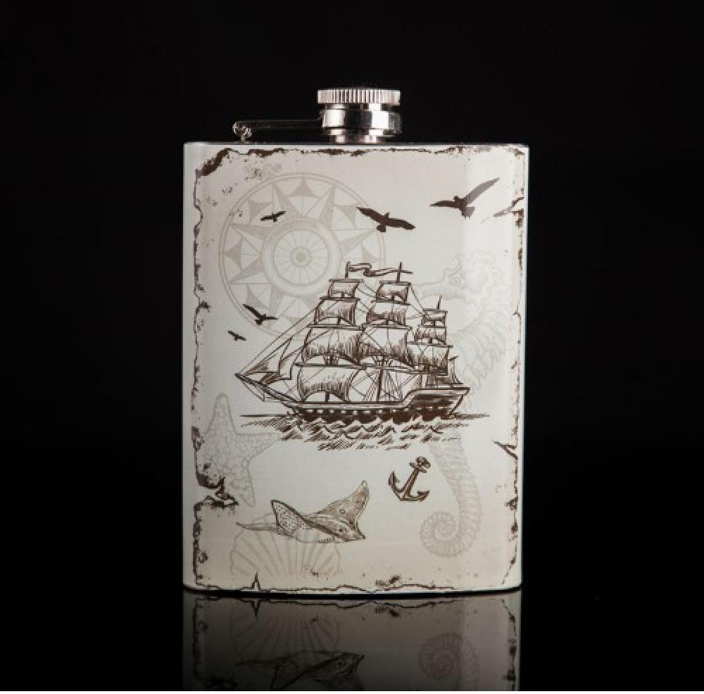 #alcohol #beers Sea Adventurer Stainless Steel Flask https://baropener.com/product/sea-adventurer-stainless-steel-flask/…