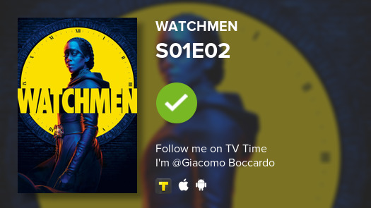 test Twitter Media - I've just watched episode S01E02 of Watchmen! #watchmen  #tvtime https://t.co/zDmbUOs7jv https://t.co/VBYErLimHN