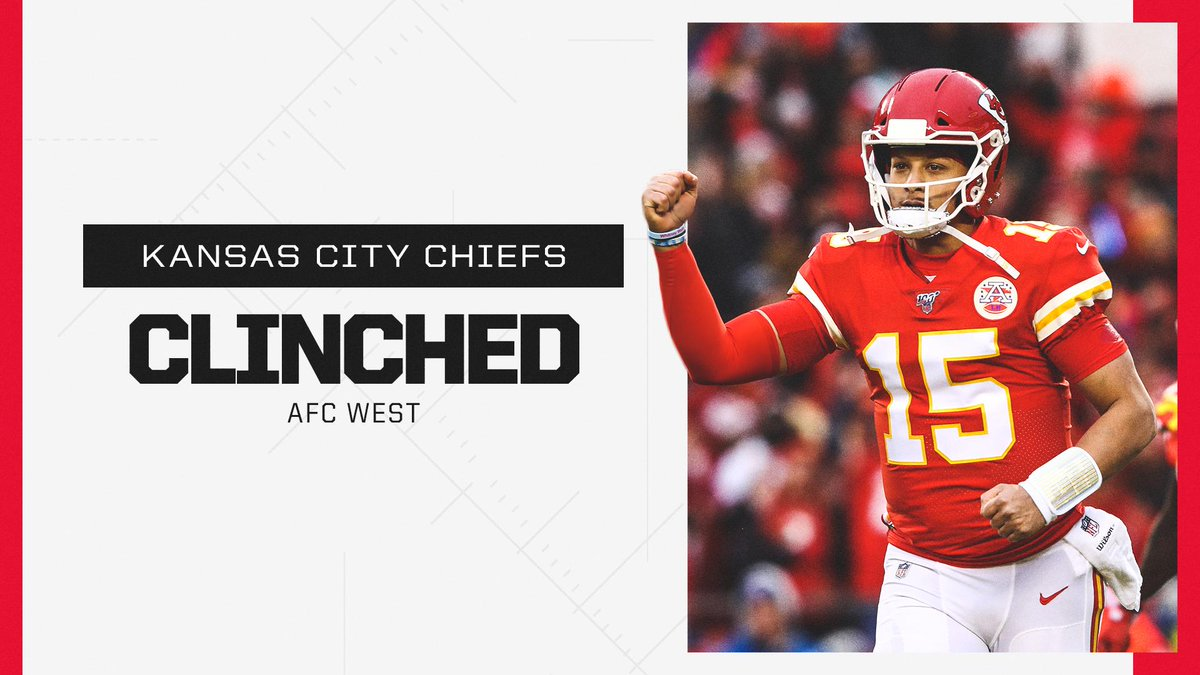 AFC West: Clinched 🔒