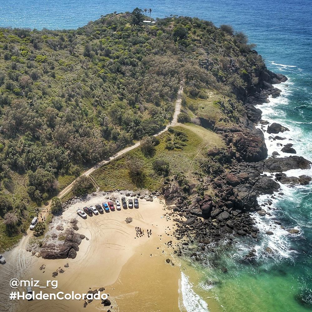 How do you improve the sun, sand and surf of Queensland's Double Island? You tackle its terrain with the Brisbane Colorado club 👊.  #YouGotThis  📷 - @Miz_RG https://t.co/jlQv3aZQP4