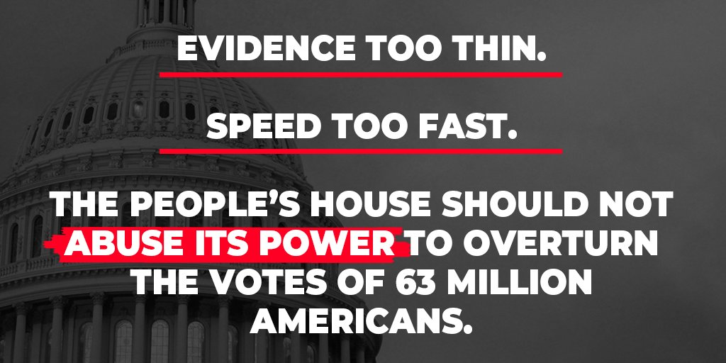 This #ShamImpeachment, led by Speaker Pelosi and perpetrated by Adam Schiff, is the actual abuse of power.