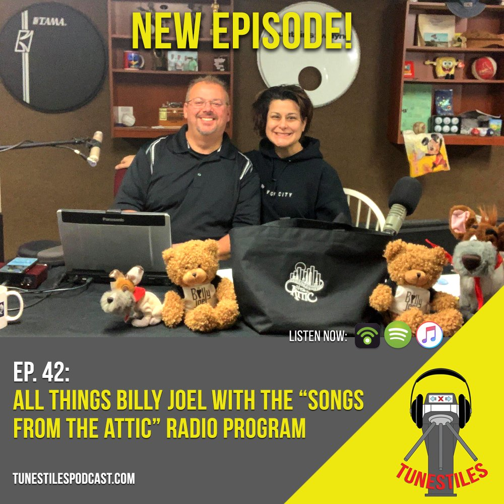 🎙️NEW EPISODE!🎙️We're joined by @songsattic to discuss all things @billyjoel - along with behind-the-scenes stories from some of Joel'sbandmates. Listen, subscribe & #staytuned:https://linktr.ee/tunestilespodcast…#podcast | #podernfamily | #oddpodsquad | #musicpodcast | #billyjoel