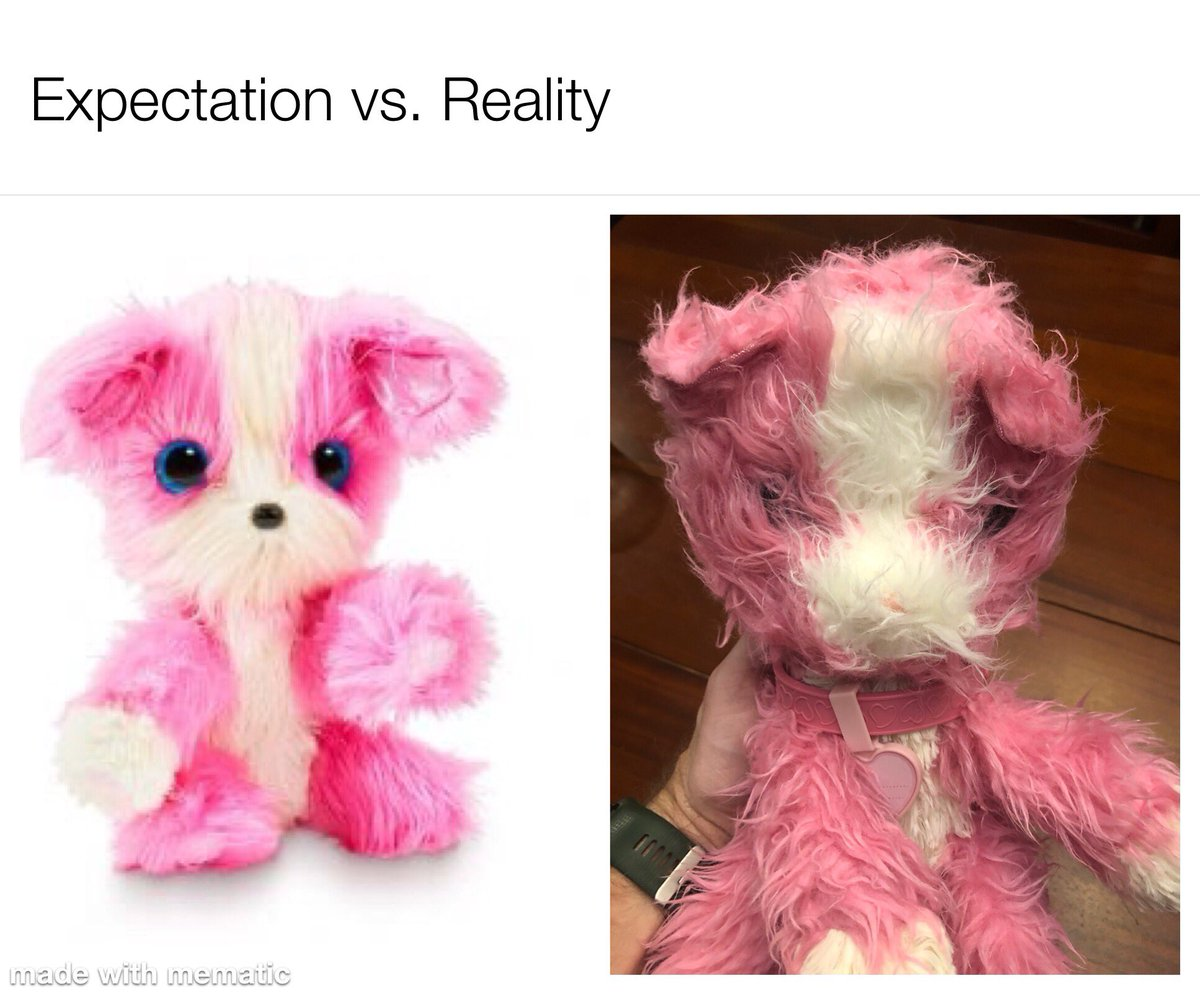At least my 5yo wasn't disappointed by this ball of matted fur  #Dadlife #ChristmasGift #expectationvsreality #ScruffaLuvs @Moose_Toys