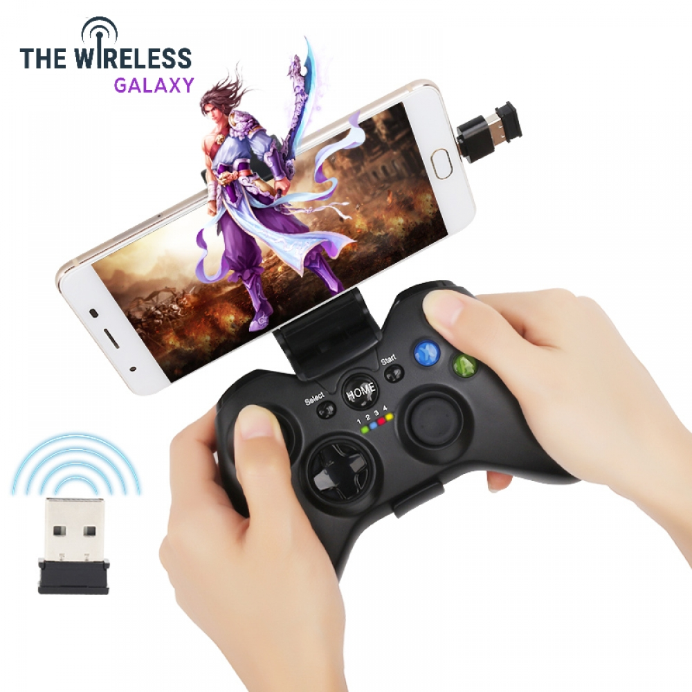 2, 4g wireless Android Gamepad Joystick Controller mobile phone Joypad with support for PS3 PC Smartphone TV box for 360 windows.  https://thewirelessgalaxy.com/product/2-4g-wireless-android-gamepad-joystick-controller-mobile-phone-joypad-with-support-for-ps3-pc-smartphone-tv-box-for-360-windows/ ….  30.70.#technologyaddict pic.twitter.com/FnWk7GN4YD