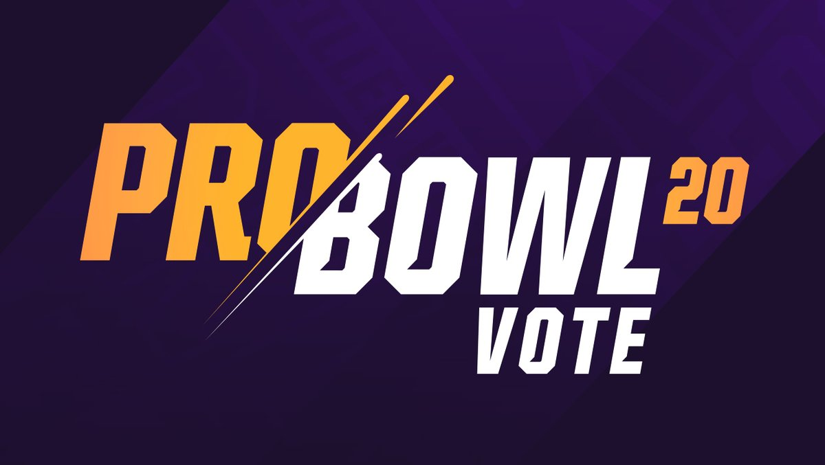 We did our thing today.  It's time for you to do yours.  RT to #ProBowlVote!  @KirkCousins8  @dalvincook  @cjham28  @stefondiggs  @KyleRudolph82  @DHunt94_TX @EversonGriffen @AnthonyBarr @EricKendricks54  @HarriSmith22  @HOOSDatDude  Dan Bailey @brittoncolquitt @Ameerguapo