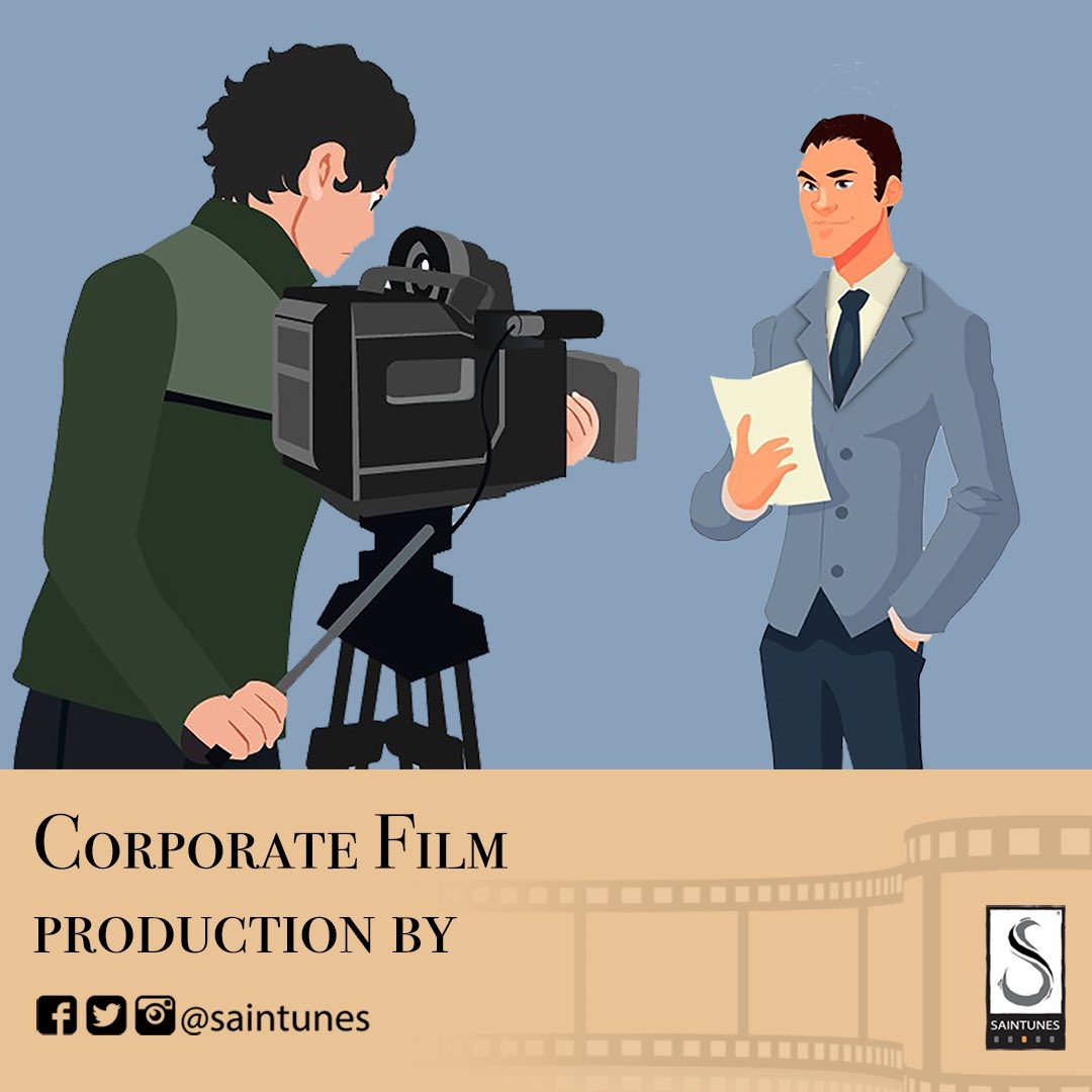 From conceptualising to post production, we take care of all aspects of a #corporatefilm production.  #Saintunes #KumarNarayanan #videoproduction #concept #script #talent #preproduction #voiceover #videoshoot #videoediting #postproduction #audio #bgm #corporatelife #mnc #startups